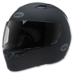 Bell Solid Matte Black Qualifier Full Face Helmet - 7049223 | |  Hot Sale