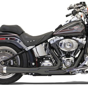 Bassani Road Rage 2-into-1 Short Megaphone Muffler Ceramic Black - 12122J | |  Hot Sale