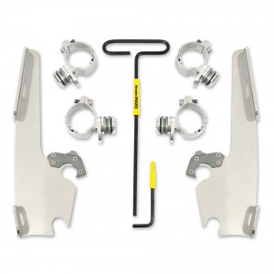 Memphis Shades Fats/Slims Polished Trigger Lock Mount Kit - MEK2001 | |  Hot Sale
