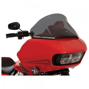 "Klock Werks 12"" Dark Smoke Pro-Touring Flare Windshield - 2310-0584 