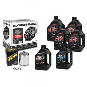 Maxima Synthetic 20W-50 Complete Oil Change Kit with Chrome Filter - 90-119016PC | |  Hot Sale