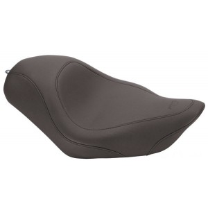 Mustang Black Wide Tripper Solo Seat - 76724 | |  Hot Sale