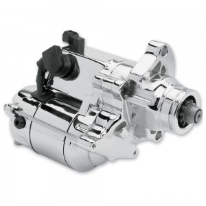 Spyke Starters 1.4 kW Hi-Torque Starter Chrome - 412210 | |  Hot Sale