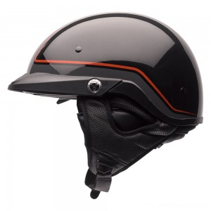 Bell Pit Boss Pinstripe Orange Half Helmet - 7070069 | |  Hot Sale