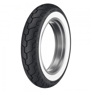 Dunlop D402 MU85B16 Wide Whitewall Rear Tire - 45006074 | |  Hot Sale