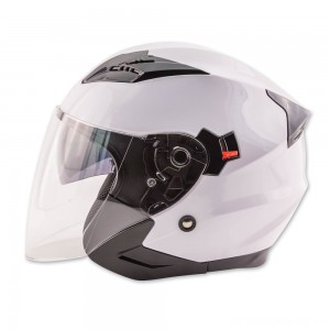 Zox Journey White Open Face Helmet - 88-33652 | |  Hot Sale