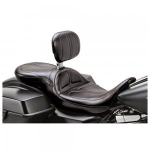 Le Pera Maverick Stitch 2-Up Seat with Driver Backrest - LK-957BR | |  Hot Sale
