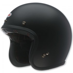 Bell Custom 500 Matte Black Open Face Helmet - 7049170 | |  Hot Sale