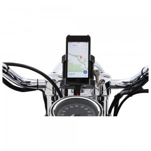 "Ciro Smartphone/GPS Holder with Chrome 7/8""-1"" Bar Mount - 50312 