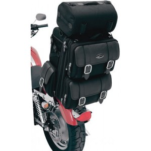 Saddlemen S3200DE Deluxe Sissy Bar Bag - 35150086      Hot Sale
