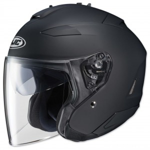 HJC IS-33 II Matte Black Open Face Helmet - 0833-0235-08 | |  Hot Sale