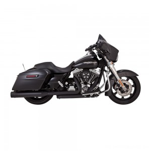 Vance & Hines Titan OverSized 450 Slip Ons Black with Black End Caps - 46549 | |  Hot Sale