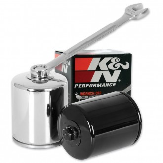 K&N High Performance Chrome Wrench-Off Oil Filter - KN-171C      Hot Sale