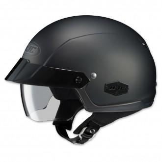 HJC IS-Cruiser Matte Black Half Helmet - 0824-0135-06      Hot Sale