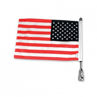 Pro Pad Tour Pack Solid Flag Mount with 6″ x 9″ American Flag - RFM-FXD3 | |  Hot Sale