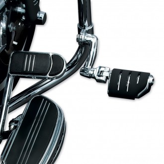 Kuryakyn Chrome Longhorn Trident Dually Pegs with 1-1/4″ Magnum Quick Clamps - 7555 | |  Hot Sale