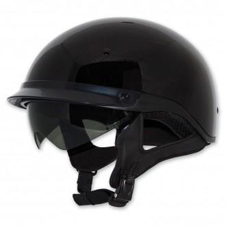 Zox Roadster DDV Black Half Helmet - Z88-00454      Hot Sale