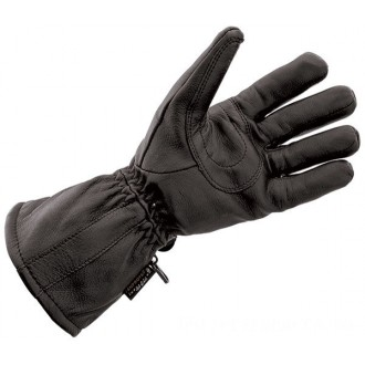 J&P Cycles Black Deerskin Waterproof Gloves - NG828TLWP-L | |  Hot Sale