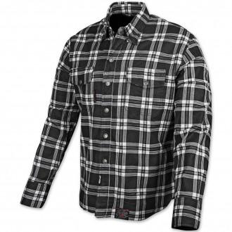 Speed and Strength Black Nine Black/White Flannel Moto Jacket - 878046 | |  Hot Sale