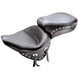Mustang One-Piece Wide Studded Touring Seat - 75072 | |  Hot Sale