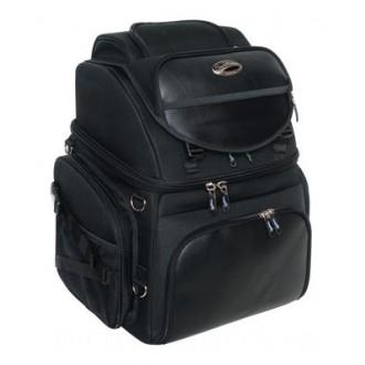 Saddlemen BR3400 Backrest Seat and Sissybar Bag - 35150107 | |  Hot Sale