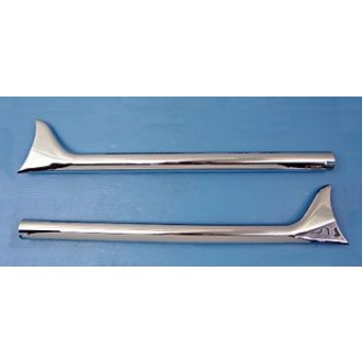 J&P Cycles Fishtail Straight Pipes | |  Hot Sale