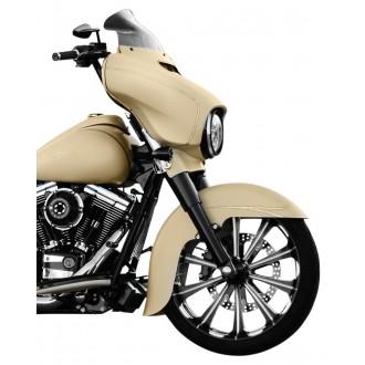 Klock Werks 8-1/2″ Dark Smoke Flare Windshield - 2310-0477      Hot Sale