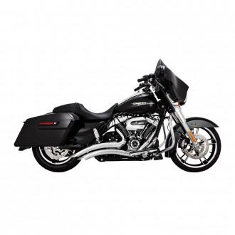 Vance & Hines Big Radius 2 into 2 Chrome Exhaust - 26073 | |  Hot Sale