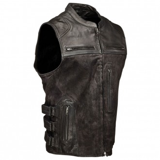 Speed and Strength Men's Tough as Nails Black Vest - 1114-0505-0053      Hot Sale