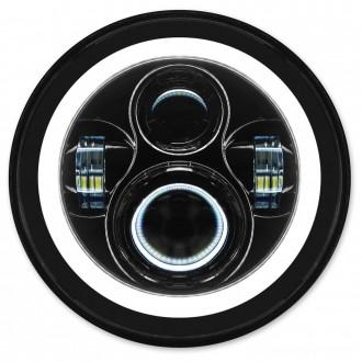 HogWorkz 7″ LED Blackout HaloMaker Headlight Kit - HW167005 | |  Hot Sale