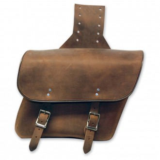 Leatherworks, Inc. Distressed Brown Throwover Saddlebags - 404T | |  Hot Sale