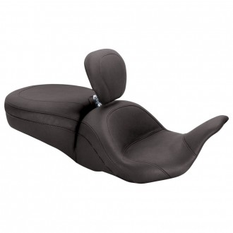 Mustang One-Piece LowDown Touring Seat with Backrest - 79703 | |  Hot Sale