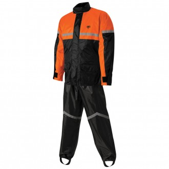 Nelson-Rigg SR-6000 Stormrider Black/Orange Rain Suit - 21-1473 | |  Hot Sale
