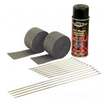 Design Engineering Inc. Motorcycle Exhaust Wrap Kit with Black Wrap - 010330      Hot Sale