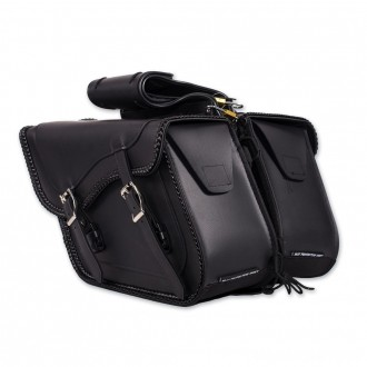 Dream Apparel Saddlebag & Accessory Plain Throwover Zip-Off Saddlebags - SD4065-NS-PV | |  Hot Sale