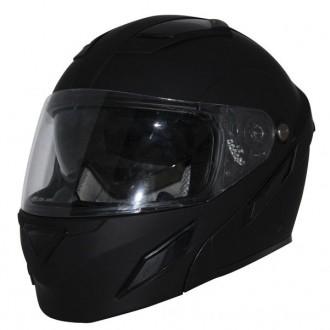 Zox Brigade SVS Matte Black Modular Helmet - Z88-30715 | |  Hot Sale