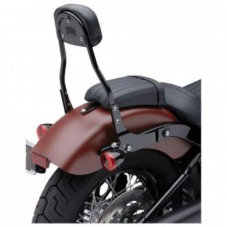"Cobra Black Quick Detachable 14"" Round Bar Sissy Bar with Backrest - 602-2006B | |  Hot Sale"