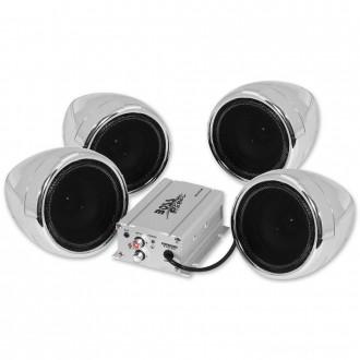 "Boss Audio Systems 1000 Watt Bluetooth 3"" Chrome Speaker Kit - MC470B      Hot Sale"