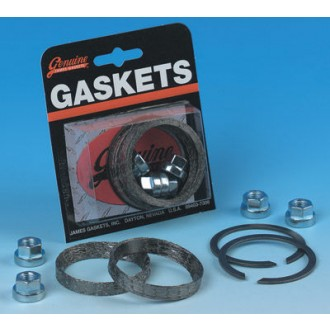 Genuine James Exhaust Gasket Kit with Tapered Profile Gaskets - JGI-65324-83-KWG2 | |  Hot Sale