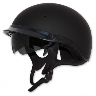 Zox Roadster DDV Matte Black Half Helmet - Z88-00463 | |  Hot Sale