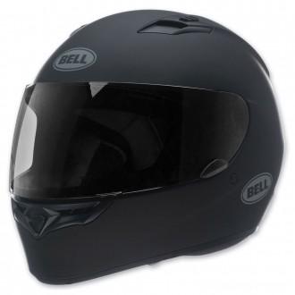 Bell Solid Matte Black Qualifier Full Face Helmet - 7049223 | |  Hot Sale