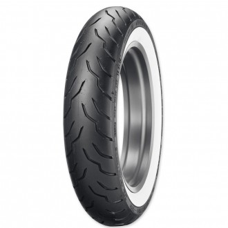 Dunlop American Elite 130/90B16 67H Wide Whitewall Front Tire - 45131520 | |  Hot Sale