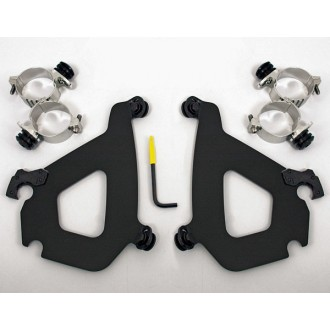 Memphis Shades Bullet Fairing Black Trigger Lock Mount Kit - MEB1982 | |  Hot Sale