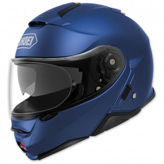 Shoei Neotec II Matte Blue Metallic Modular Helmet - 77-11924 | |  Hot Sale