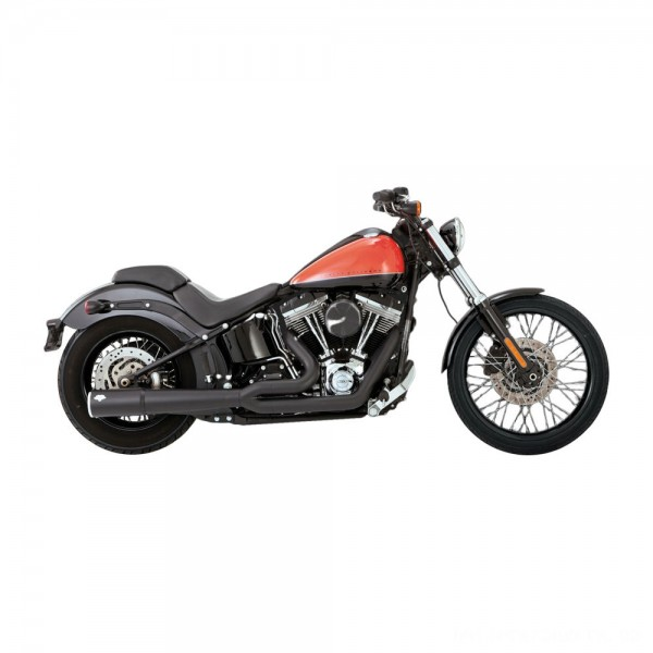 Vance & Hines Pro Pipe Black Exhaust - 47527 | |  Hot Sale