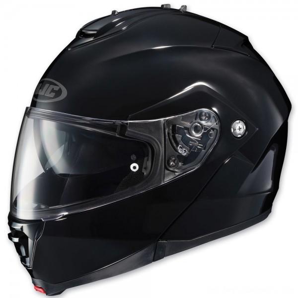 HJC IS-MAX II Gloss Black Modular Helmet - 980-606 | |  Hot Sale