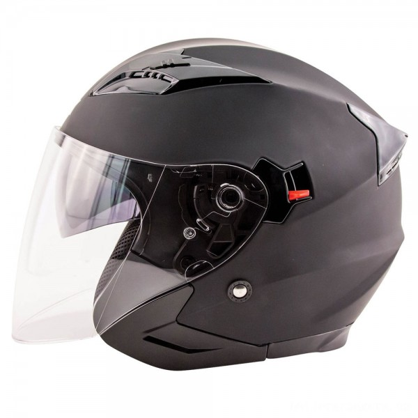 Zox Journey Matte Black Open Face Helmet - 88-33643 | |  Hot Sale