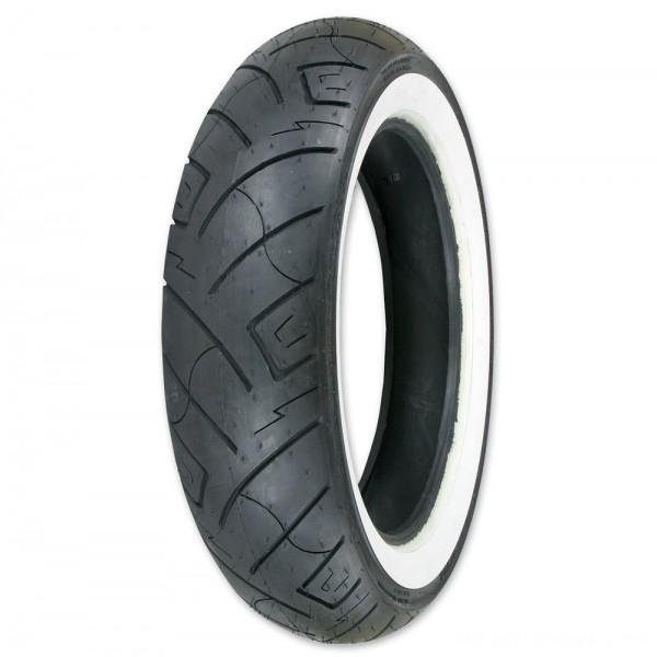 Shinko 777 150/80-16 Wide Whitewall Rear Tire - 87-4598      Hot Sale