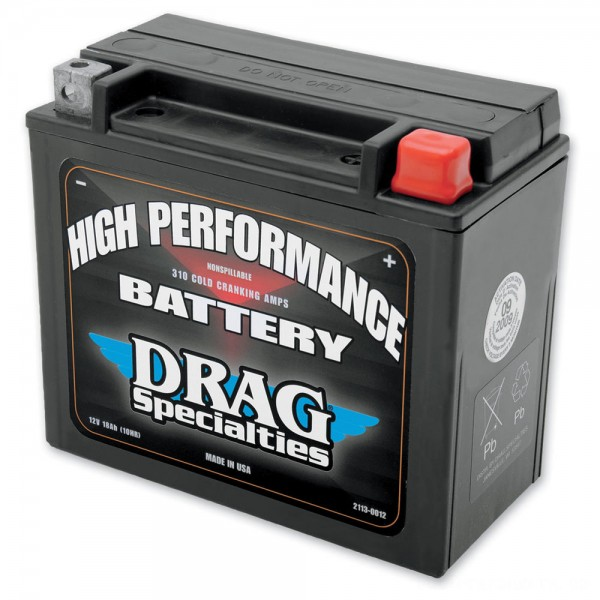 Drag Specialties High Performance Battery - 2113-0012 | |  Hot Sale