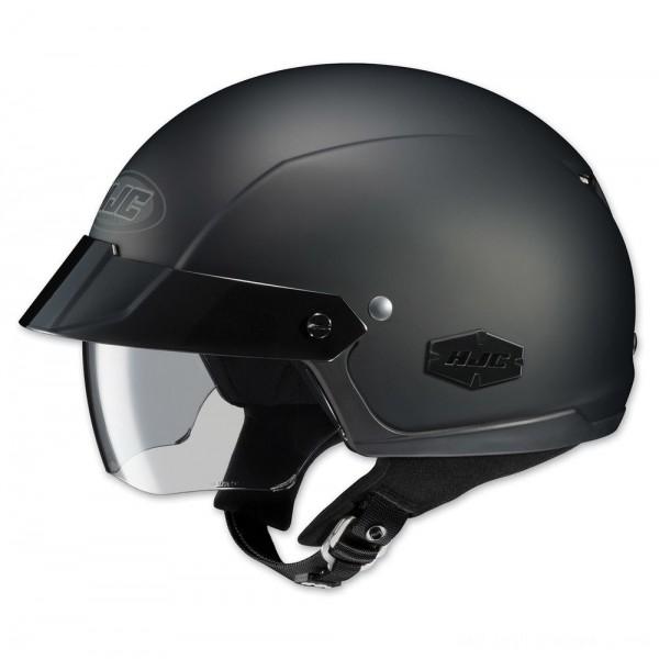 HJC IS-Cruiser Matte Black Half Helmet - 0824-0135-06 | |  Hot Sale